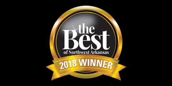 The Best of Northwest Arkansas 2018 Winner
