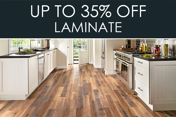 Up to 35% OFF Laminate at Abbey Carpet & Floor in Bentonville!