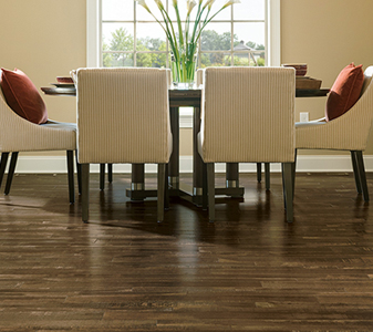 Hardwood flooring roomscene