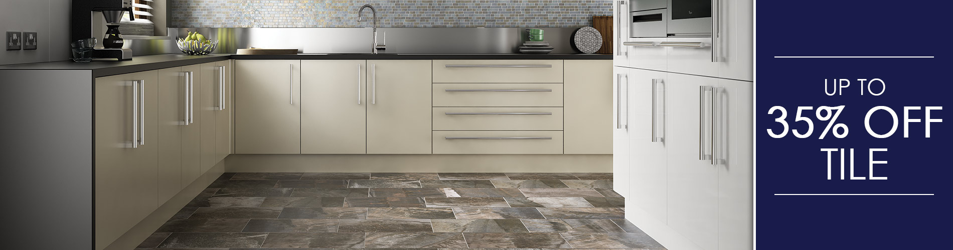 Up to 35% OFF Tile at Abbey Carpet & Floor in Bentonville!