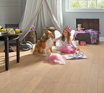 Hardwood flooring roomscene